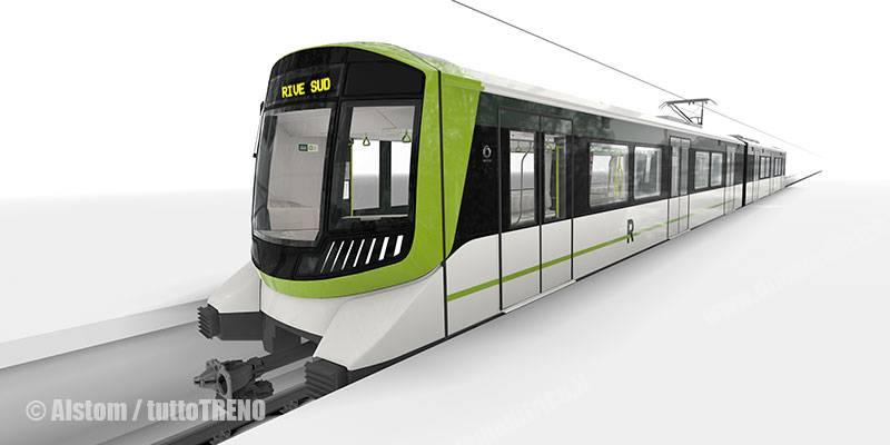 Alstom: treni Metropolis per la metro 5 di Bucarest