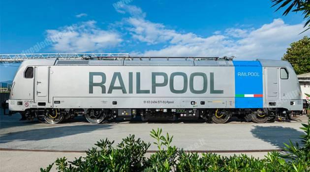 Railpool Italia firma il contratto per la locazione di E 494 Ultimo Miglio a Captrain