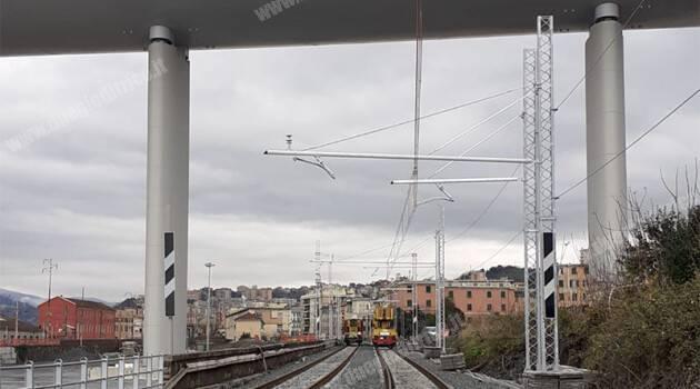 FS ITALIANE – RFI: RIAPRE DOMANI LA LINEA SUSSIDIARIA NEL NODO DI GENOVA