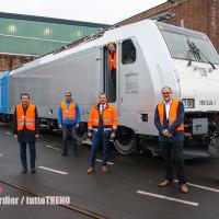 Bombardier: consegnata la 200ª TRAXX a Railpool