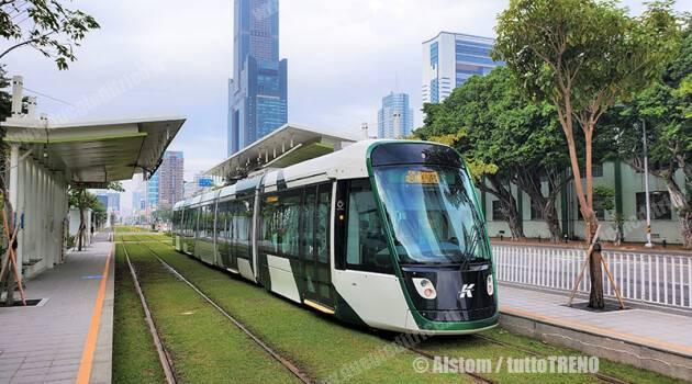 Taiwan: Citadis X05 in servizio a Kaohsiung