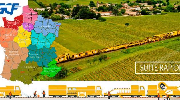 Suite Rapide: 6 cantieri veloci GCF-Transalp per le ferrovie francesi