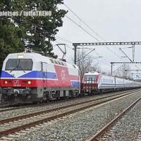 TrainOSE: il primo Pendolino per la linea AV è arrivato a Salonicco