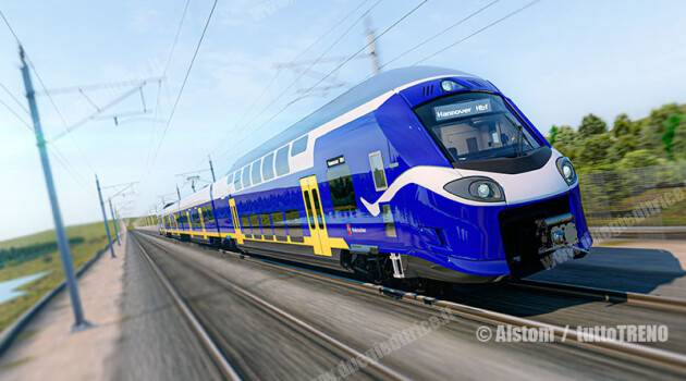 Alstom: 34 elettrotreni Coradia Stream High Capacity al LNVG
