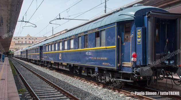 Pullmann Orient Express in Sicilia