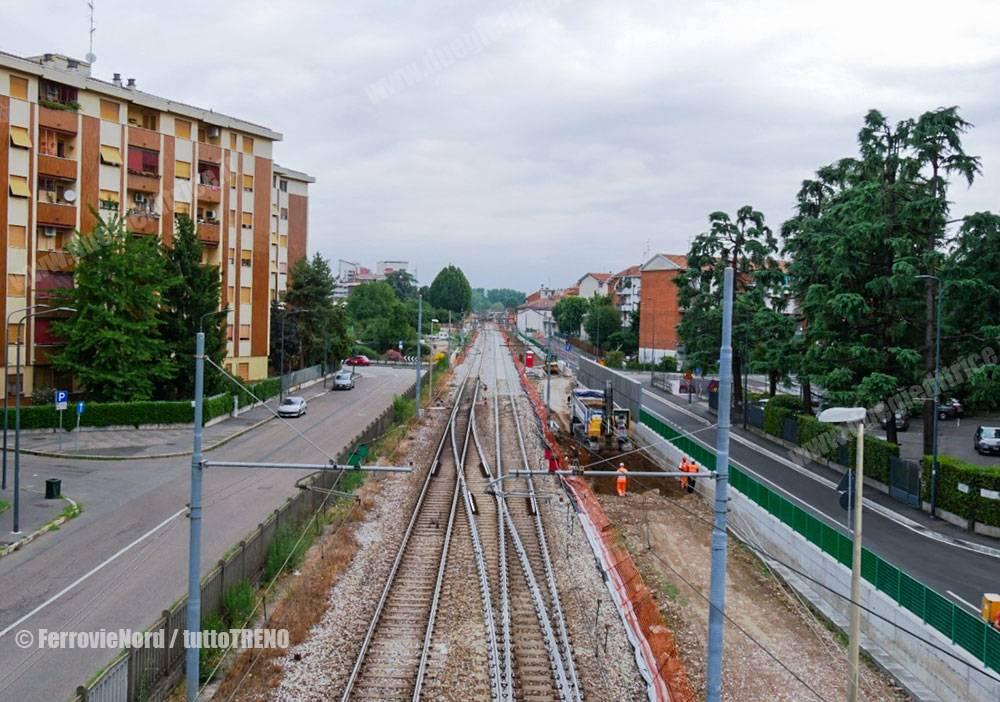 FerrovieNord: terzo binario tra Milano Affori e Cormano-Cusano