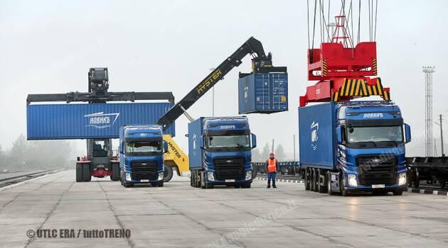 Inaugurato il nuovo terminale per il traffico transeuroasiatico nella regione di Kaliningrad: UTLC ERA sta progettando due coppie di treni a settimana